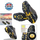 Ice Snow Over Shoe Grips Boot Traction Rubber Cleat Anti Slip Crampones Spikes