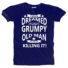 New Funny Humorous Grumpy Old Man Premium Quality T-shirt Sizes Small to 5XLarge