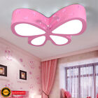 Modern Butterfly LED Ceiling Lamp Children Bedroom Pendant Lamps Lighting Xmas