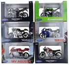 Welly Die Cast 1:18 Scale Motorcycle Model In Box Choice of 6 Motorbikes Gift £7.99 GBP on eBay
