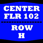 1-4 TIX BOYZ II MEN 3/24 FLOOR 102 ROW H HORSESHOE SOUTHERN INDIANA ELIZABETH
