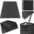 Eva Interlocking Soft Foam Mat Flooring Tiles Kids Play Garage Gym Home Mat