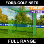 FORB Backyard Golf Hitting Nets & Professional Driving Range Golf Cages Inc. Mat