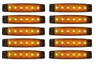 10 X 24v Led Amber Side Marker Light Fits FOR Scania R480 R500 P230  Van Lorry