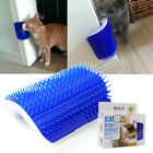 Pet Cat Self Groomer Brush Wall Corner Grooming Massage Comb Toy With Catnip MSG