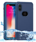 IP68 Rating Waterproof Case Cover with Screen Protector & Strap For iPhone X 10