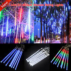Outdoor Christmas 144LED Meteor Shower Falling Star Rain Drop Icicle Fairy Light
