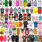 For iPhone SE 5 5s 5c Hot 3D Cute Cartoon Soft Silicone Phon