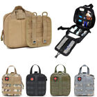 Tactical First Aid Kit Bag Survival Molle RipAway EMT Pouch IFAK Medical Outdoor