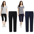 Marks & Spencer Womens Cropped Jogging Bottoms New M&S Gym Joggers Lounge Pants