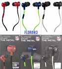 NFL Team Pro Metal Earphone With Built in-Microphone By iHip