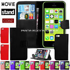 PU Leather Wallet Flip Phone Case Cover For Apple iPhone 4,5,5C,iPhone 6, 7  6+