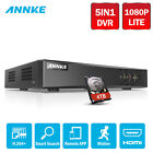 ANNKE 8CH 1080N CCTV DVR H.264+ Video Record for Home Security Camera System