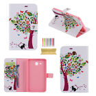 """For Samsung Galaxy Tab A 8.0"""" SM-T350 Smart Pattern Wallet PU Leather Case Cover"""