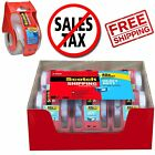 Scotch Heavy Duty Shipping Packing Clear Tape Rolls Dispense