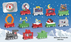 2017 McDONALD'S HOLIDAY EXPRESS HAPPY MEAL TOYS! PICK YOUR FAVORITES! SHIPS NOW!