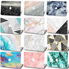 MATTE Painted Art Marble Protective MacBook Pro Air Hard Case Shell Cover +KB+SP