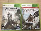 Xbox 360 Games Assassin's Creed 3 & Black Flag