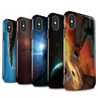 apple blackhole - Official Chris Cold Gloss Tough Case for Apple iPhone X/10 /Galactic World