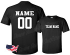 Custom T-Shirt Jersey Personalized Name Number Football Softball SM - 6XL image