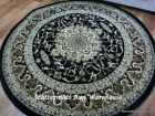 Round Rugs Black 600 Classical