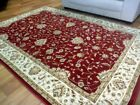 Persian Rugs Heritage Red Floor Rug All Over Soft Feel Pile