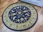 Round Rugs Classical Navy 500