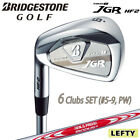 2018c Lefty BRIDGESTONE GOLF JAPAN TOUR B JGR HF2 L/H IRON SET #5-9,P(6)S 071712