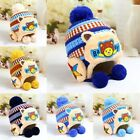 Children Kids Girl&Boy Baby Winter Warm Crochet Knit Hat Cartoon Bear Beanie Cap