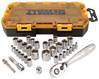 Stanley Consumer Tools DWMT73804 34-Pc. Socket Set, 1/4 & 3/8-In. Drive -
