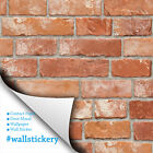 Clearance Sale | Brick Contact Wallpaper Peel and Stick Paper Countertop Cabinet