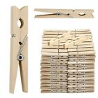 NEW WOODEN CLOTHES PEGS CLIPS PINE WASHING LINE AIRER DRY LINE WOOD PEG GARDENS