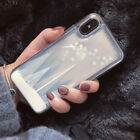 3D Cute Bling Dynamic Snowflake Glitter Soft Case Cover for iPhone X 6S 7 8 Plus