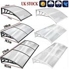 Front Back Window Door Canopy Awning Shelter Roof Patio Rain Cover Outdoor UK