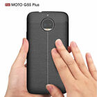 Luxury Leather Design Pattern Soft Silicon Back Case Cover For Motorola Moto G5s