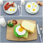 Role Play Dollhouse Omelette Kitchen Food Toy Pretend Cooking Simulation Eggs