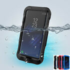 For Samsung Galaxy S8 Plus Dustproof Waterproof Shockproof Hard Clear Cover Case