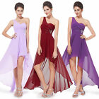 Ever-Pretty One Shoulder Long Prom Gown Chiffon Bridesmaid Evening Dresses 08100