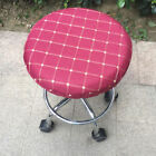 """14"""" Bar Stool Covers Round Chair Seat Cover Cushions Sleeve Wine Red Dental"""
