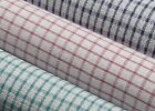 100% cotton woven , MULTI CHECK TEA TOWELS, SOFT ABSORBENT,  PACK OF 10