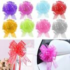 Внешний вид - 50pcs 50mm Large Organza Ribbon Pull Bows Wedding Party Decoration Gift Wrap
