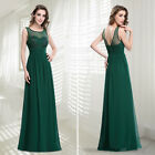 Ever-Pretty Long Formal Bridesmaid Dress Sleeveless Wedding Bride Gowns 08784