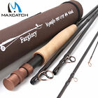 "Maxcatch Fly Rod Farglory #4 #5 9'0""-10'6"" / 9'6''-11'0'' Extension Section"