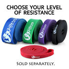 "Pull Up Assist Bands, 41"" Resistance Powerlifting Bodyweight Training Bands Gym image"