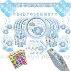 BABY SHOWER BOYS Party Pack Tableware & Decorations Pack Kits BABY ELEPHANTS