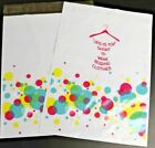 """Pick Quantity 1-2000 7.5x10.5 Poly Mailer """"Bubbly Shopping Dress"""" Boutique Bags"""