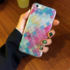 Head Case Designs Mermaid Scales Soft Gel Case For iPhone OPPO Phones
