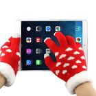 New Woven Decorative Heart Pattern Three Finger Touch Screen Gloves for Women $12.95 USD on eBay