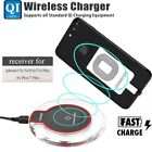Qi Wireless Charger Charging Induktion Ladegerät für Apple iPhone 6/6S/7/8/X