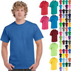 Gildan T-Shirt Tee Men's Short Sleeve 5.3 oz Heavy Cotton Solid Blank 5000 NEW image
